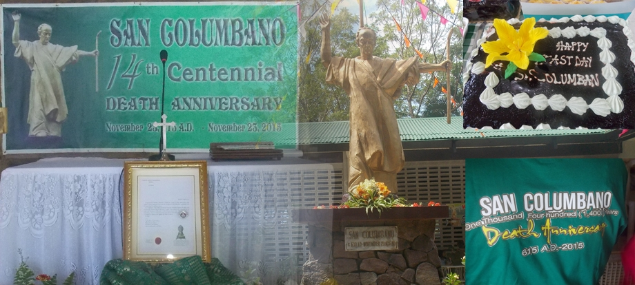 San Columbano 14th Centennial Death Anniversary